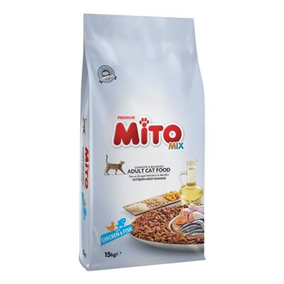 Mito MIX Adult Cat Food with Chicken & Fish