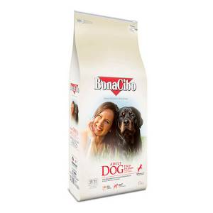 BonaCibo Adult Dog Chicken with Anchovy & Rice High Energy