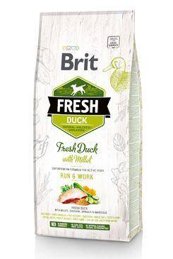 Brit Fresh Duck with Millet Adult Run & Work