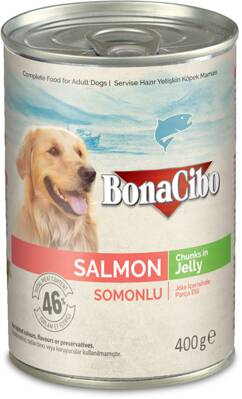 BonaCibo Salmon Chunks in Jelly