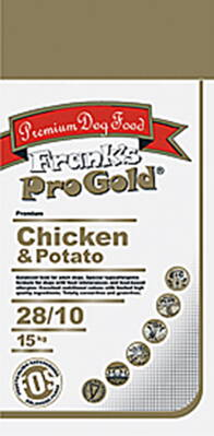 Frank's Pro Gold Chicken & Potato 28/10