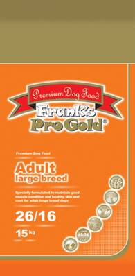 Frank's Pro Gold Adult Large Breed 26/16