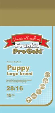 Frank's Pro Gold Puppy Large Breed 28/16